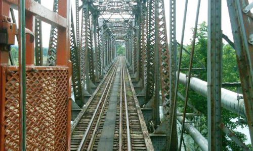 Lead Paint Abatement on Railroad